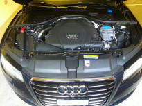 A7 Steam cleaning Engine Bay
